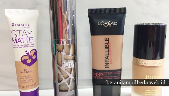 2. Hindari Penggunaan Makeup Produk Matte