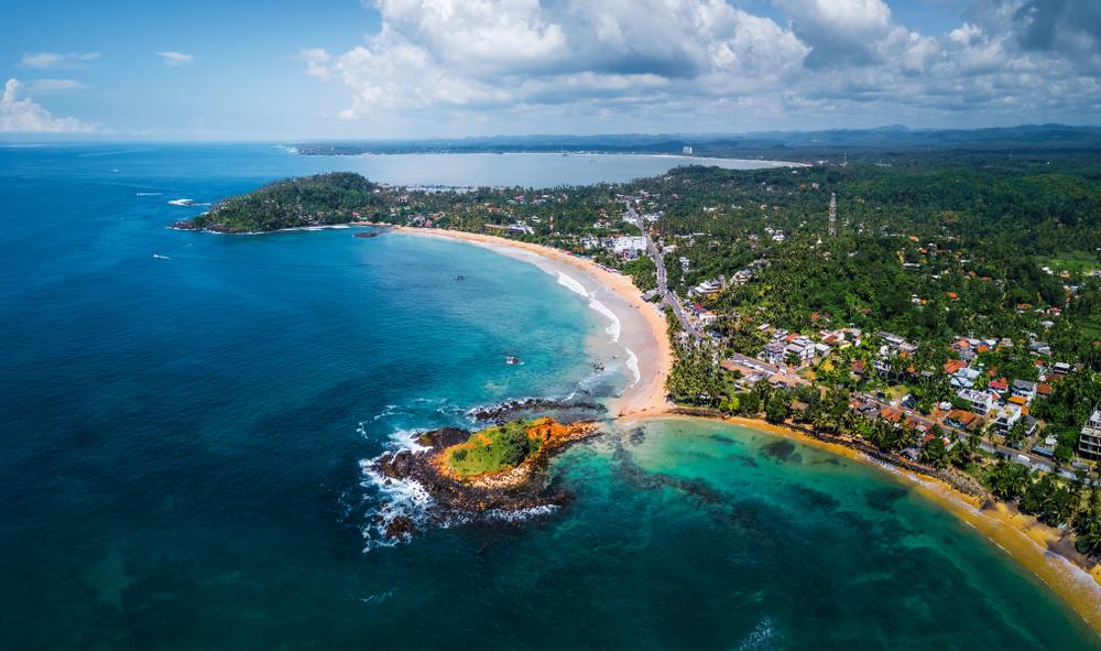 Pantai Barat daya Sri Lanka berani tampil beda