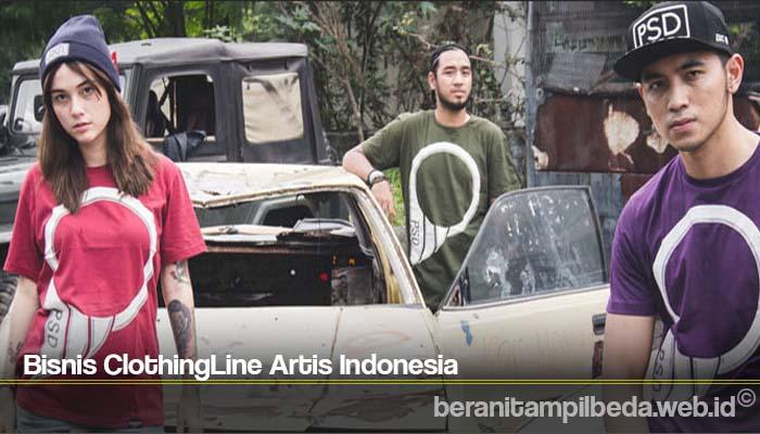 Bisnis ClothingLine Artis Indonesia