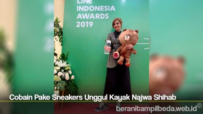 Cobain Pake Sneakers Unggul Kayak Najwa Shihab