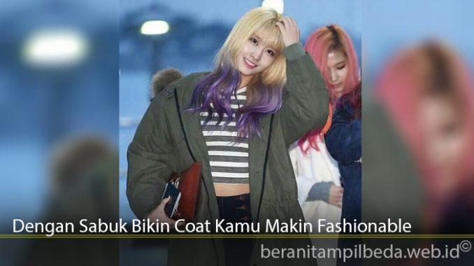 Dengan Sabuk Bikin Coat Kamu Makin Fashionable