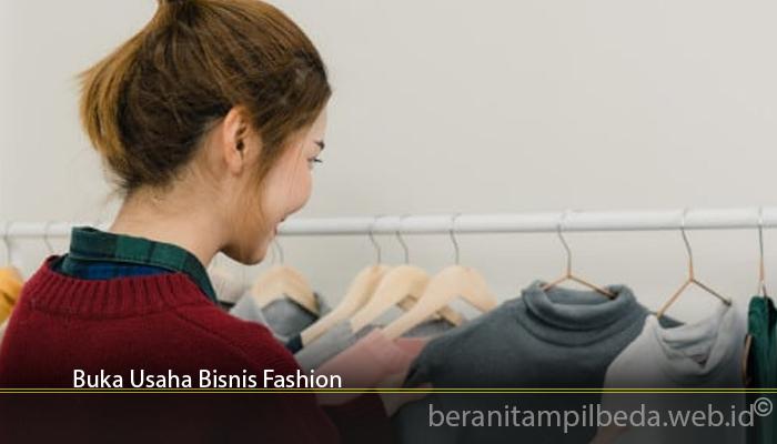 Buka Usaha Bisnis Fashion