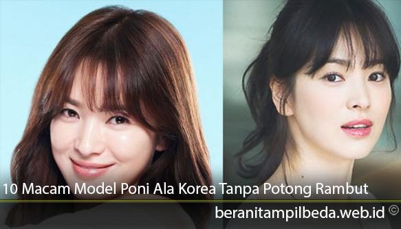 10-Macam-Model-Poni-Ala-Korea-Tanpa-Potong-Rambut